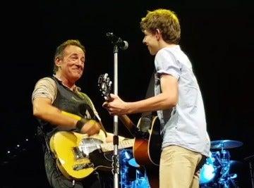 Bruce Springsteen volvió a invitar a tocar a Nathan Testa