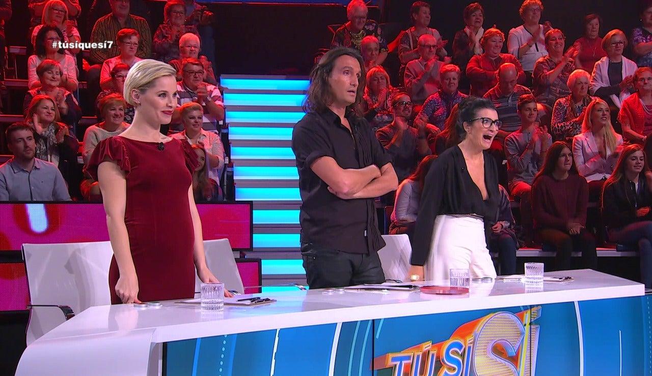 Soraya, Rafa y Silvia Abril en TSQS