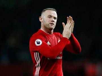 Wayne Rooney, durante un partido con el Manchester United