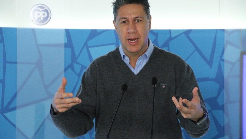 Xavier García Albiol, Presidente Grupo Popular Parlament Catalunya