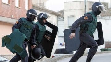 Imagen de archivo de varios agentes de la Guardia Civil