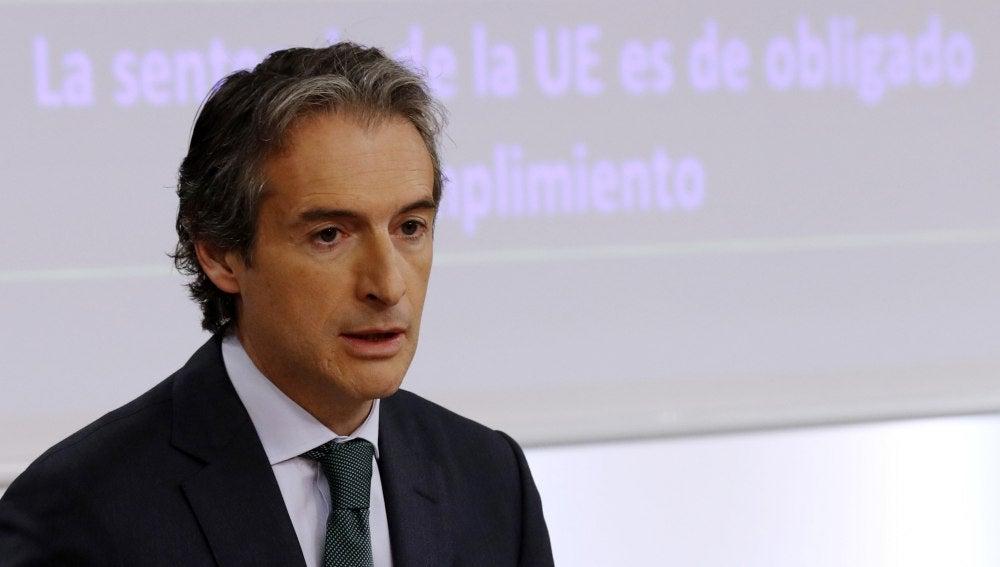 Íñigo de la Serna, ministro de Fomento