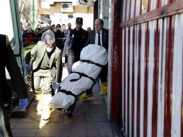 Cadáver de la mujer asesinada en Alcobendas