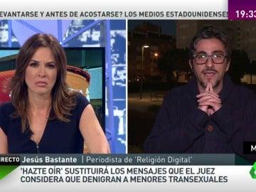 """Frame 78.399278 de: Jesús Bastante: """"Si bien la iglesia no apoya a Hazte Oír, sí tiene cierto pecado de omisión"""""""