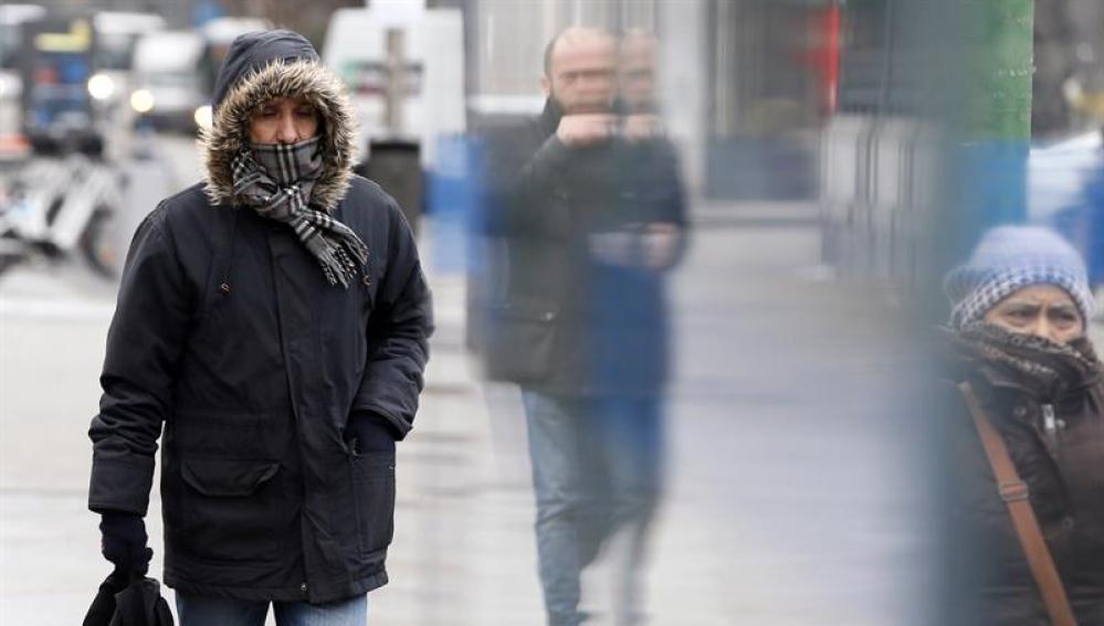 Baja la cota de nieve y las temperaturas por una masa de aire ártico