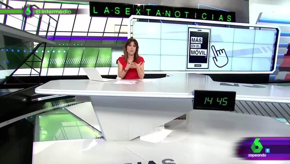 Helena Resano y su lapsus en laSextaNoticias