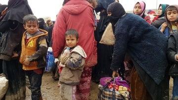 Miles de personas, obligadas a abandonar sus hogares en Mosull