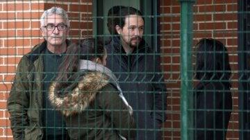 Iglesias y Cañamero visitan a Andrés Bódalo en la prisión de Jaén
