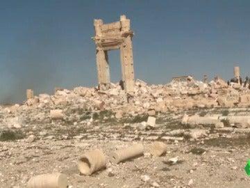 Los expertos analizan los daños arquitectónicos que deja ISIS en la ciudad de Palmira