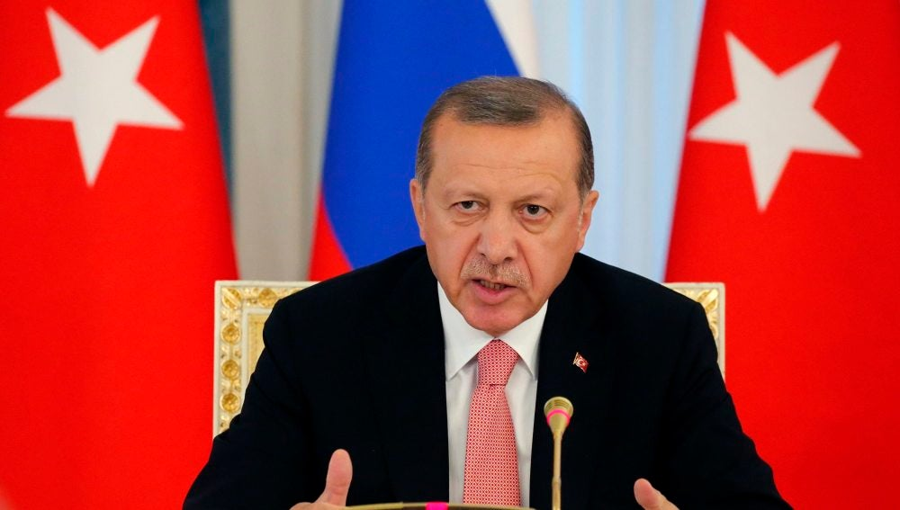 El presidente turco, Erdogan