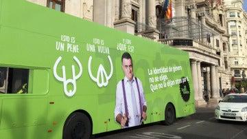 El autobús del respeto en El Intermedio