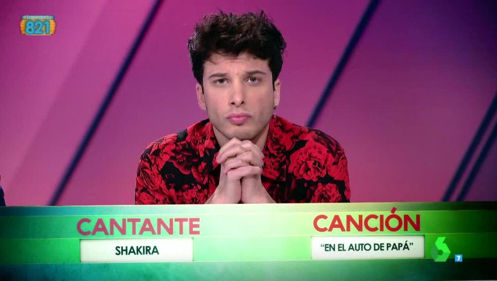 Blas Cantó, en la ruleta musical de Zapeando