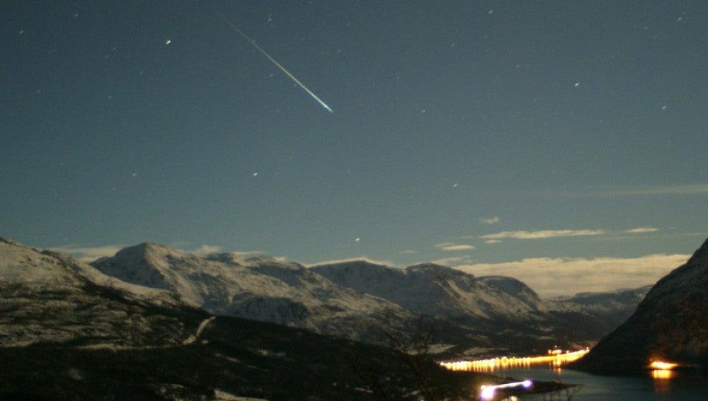 Un meteoro