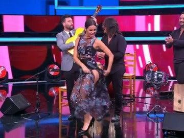 Cristina Pedroche bailando flemenco