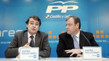 Alfonso Fernández Mañueco y Antonio Silván