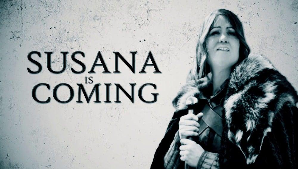 Susana is coming en El Intermedio
