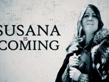 Susana is coming en El Intermedio