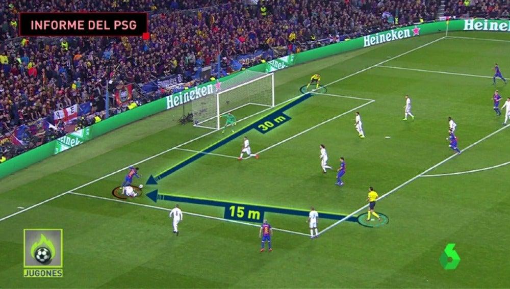 Frame 50.717777 de: Los ocho errores arbitrales a favor del Barcelona que denuncia el PSG ante la UEFA