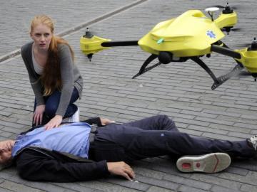 Drones que te salvan la vida