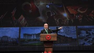 El presidente turco, Recep Tayyid Erdogan