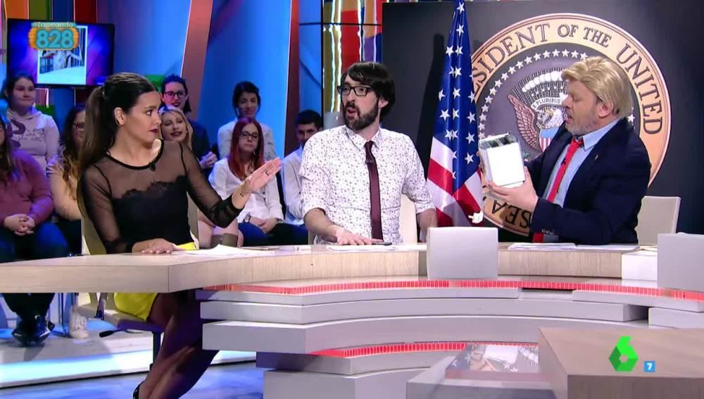 El enfado de Pedroche con Paco Trump