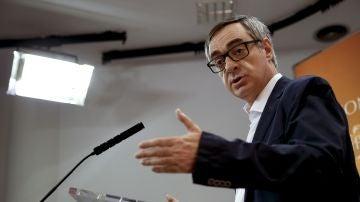 José Manuel Villegas, número dos de Ciudadanos