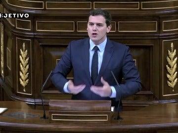 """Frame 0.0 de: Rivera: """"España ha estado siempre a la cabeza del desempleo en Europa"""""""