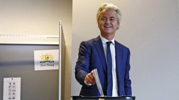 El líder del ultraderechista Partido de la Libertad, Geert Wilders