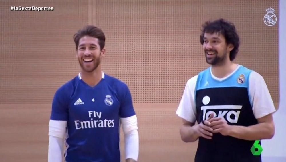 Sergio Ramos y Sergio Llull, héroes de guardia del Real Madrid