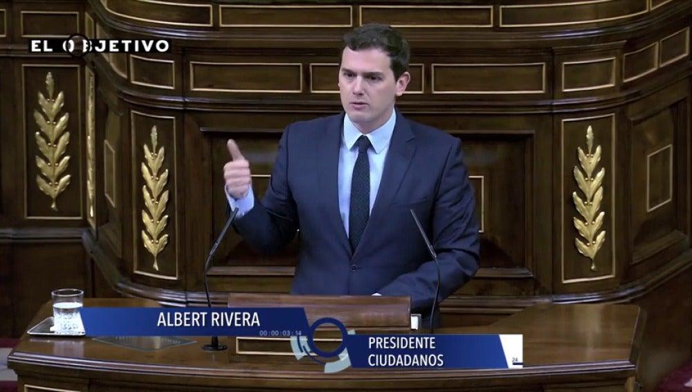 """Frame 9.632478 de: Albert Rivera: """"Somos los campeones de Europa en fracaso escolar"""""""