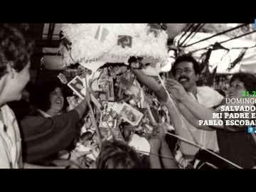 Así eran los cumpleaños del hijo de Pablo Escobar