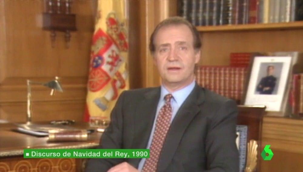 Frame 49.862206 de: El gobierno de Felipe González chantajeó al rey con las grabaciones del CNI para omitir la corrupción en su discurso de Navidad