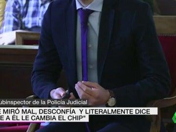 """Frame 21.048959 de: Miguel Ángel Muñoz """"mostro alivio"""" al indicar donde estaba el cuerpo de la peregrina asesinada"""