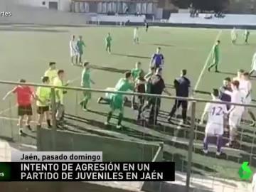 Intento de agresión en un partido de niños en Jaén