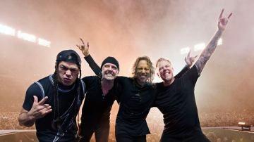 Metallica sobre el escenario