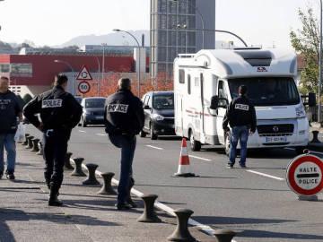 Control policial en Francia