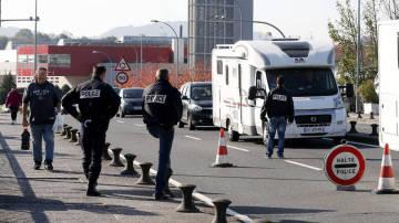 Imagen de archivo de un despliegue de Policía en Francia