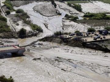Imagen de las inundaciones en Perú