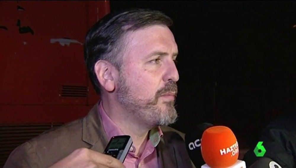 Ignacio Arsuaga habla con los medios