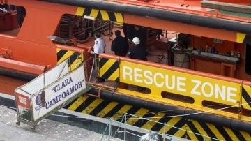 Recuperado el cuerpo del segundo tripulante del pesquero hundido