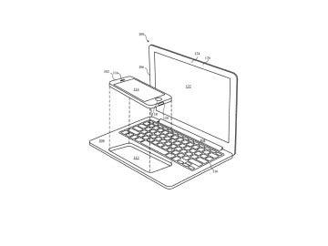 Apple patenta un iPhone que se acopla al Mac