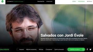 Site de Salvados en laSexta.com