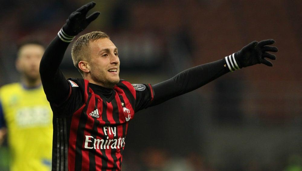 Deulofeu, con el Milan