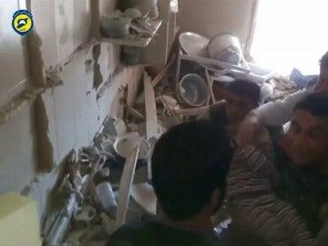Al menos nueve civiles muertos, entre ellos dos niños y dos mujeres, tras los bombardeos en Idlib, Siria.