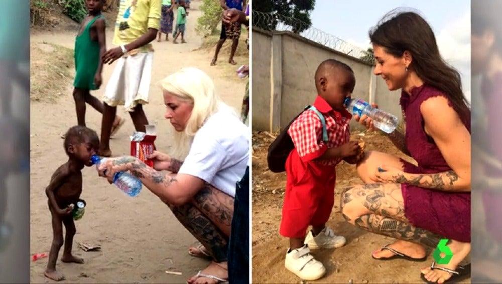 Hope, pequeño rescatado por una ONG