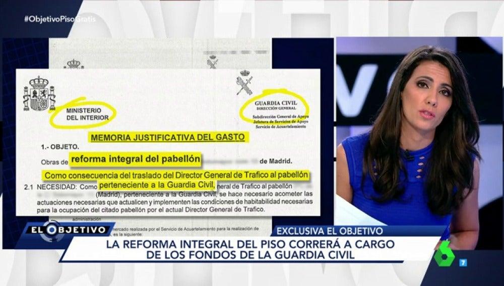 Frame 122.644327 de: Interior adjudica de forma irregular un piso de la Guardia Civil en Madrid al Director General de Tráfico