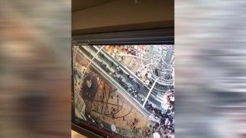 Accidente en unas escaleras mecánicas en China