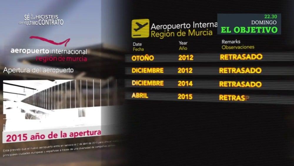 El Despegue Del Aeropuerto Internacional De Murcia