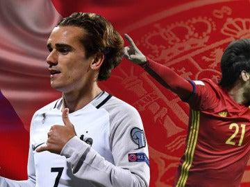Francia vs España, en Saint-Denis