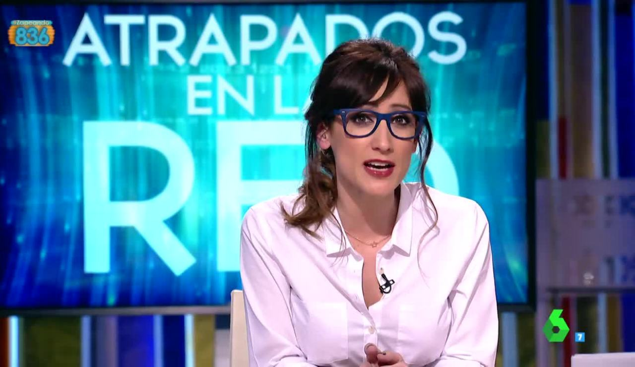 Ana Morgade presenta la sección 'Atrapados en la red'